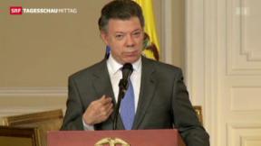 Video «Kolumbien und Farc verhandeln wieder» abspielen
