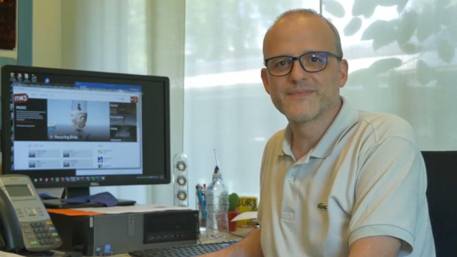 Nicola Albertoni da Rete3 davart il disc nov da Bibi Vaplan