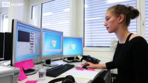 Video «Ladina Hofmann: Fachfrau Information und Dokumentation» abspielen