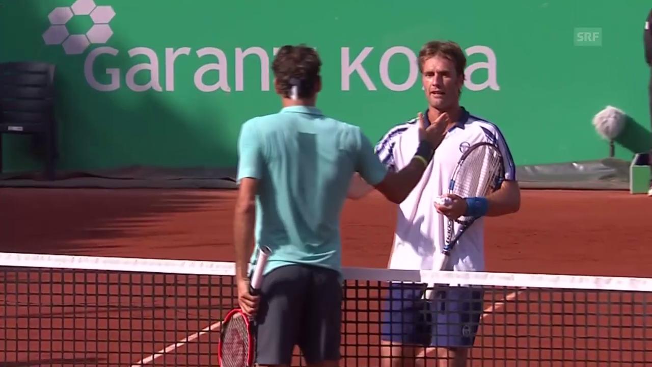 Tennis: ATP Istanbul, Federer - Gimeno-Traver