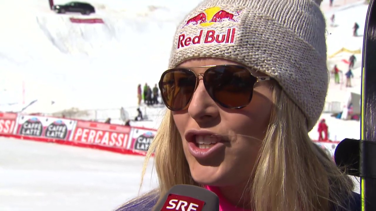 Ski: Weltcup-Super-G in Méribel, Interview mit Vonn