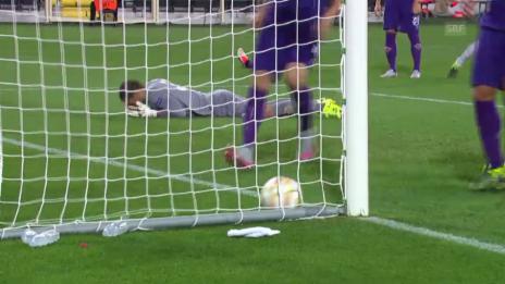 Video «Fussball: Europa League, Livehighlights Fiorentina - Basel» abspielen