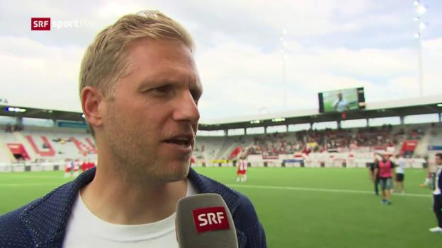 Video «Schneider: «Alles andere als das Resultat war sehr positiv.»» abspielen
