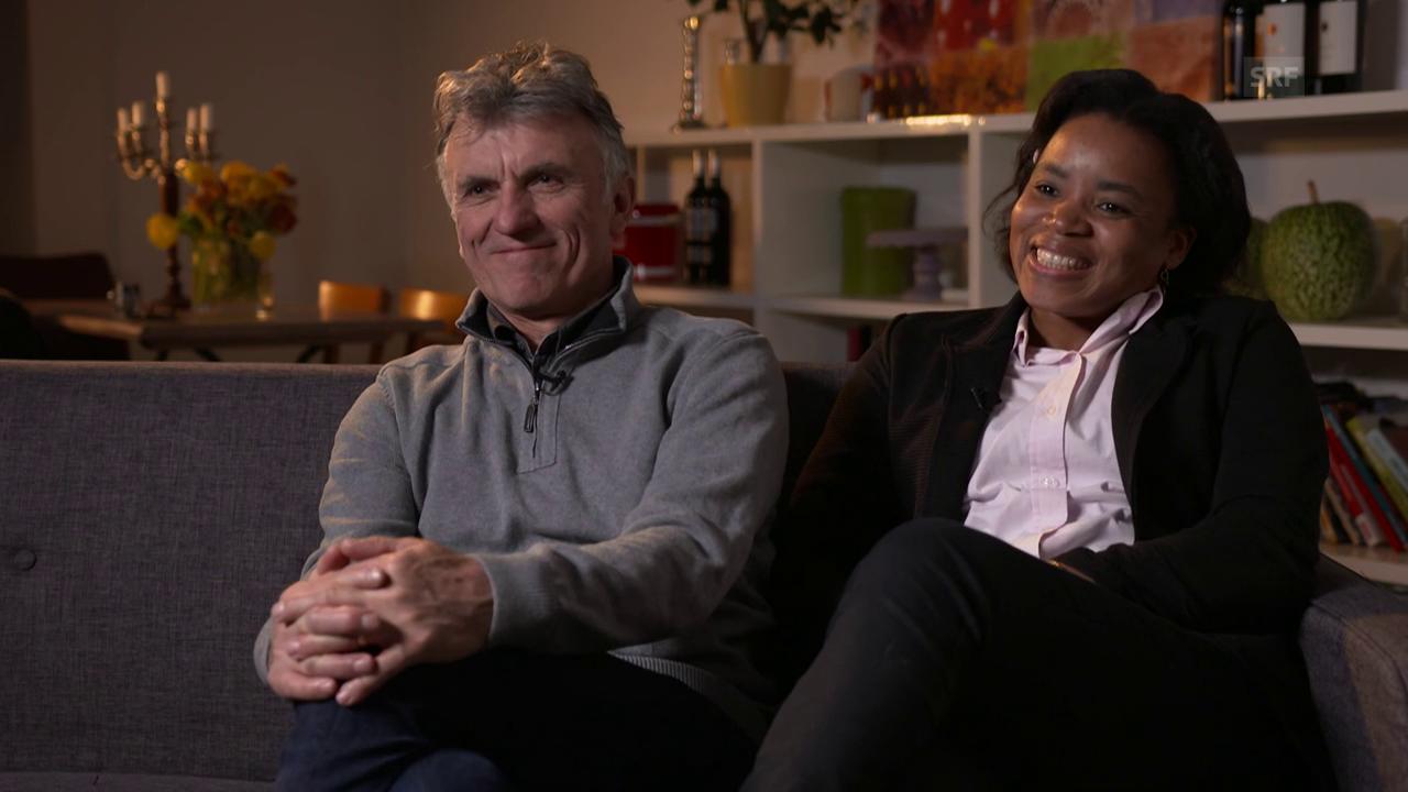 Maguy und Patrick: «Die Hochzeit in der Schweiz sollten wir ein zweites Mal feiern.»