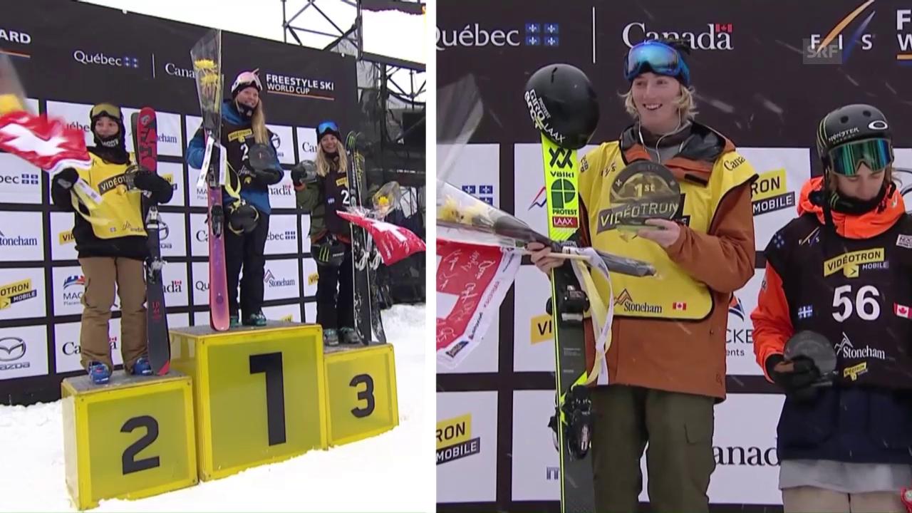 Schweizer Freestyler brillieren erneut