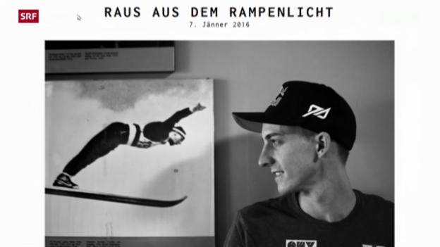 Video «Skispringer Gregor Schlierenzauer beendet Saison vorzeitig» abspielen