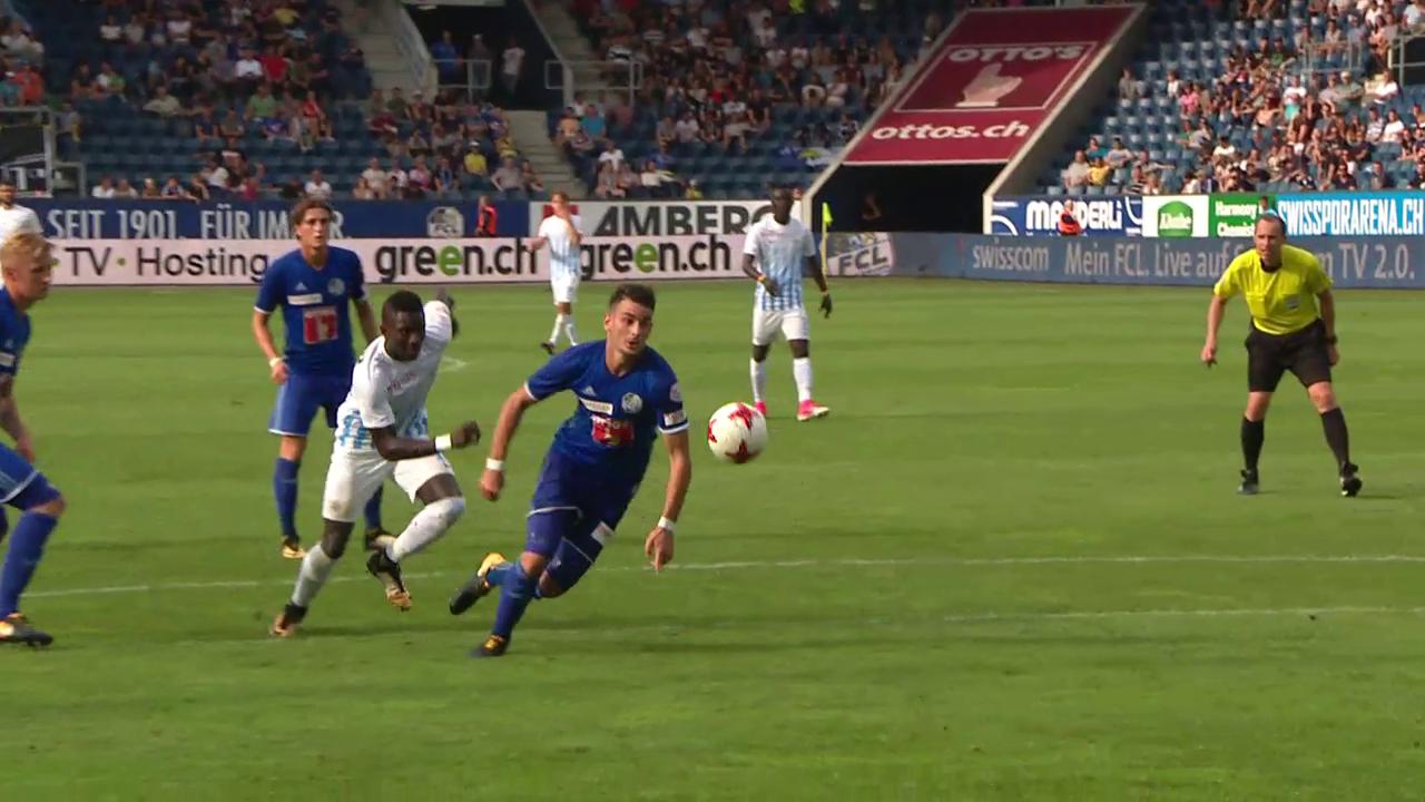FCZ bleibt trotz Unentschieden in Luzern Leader