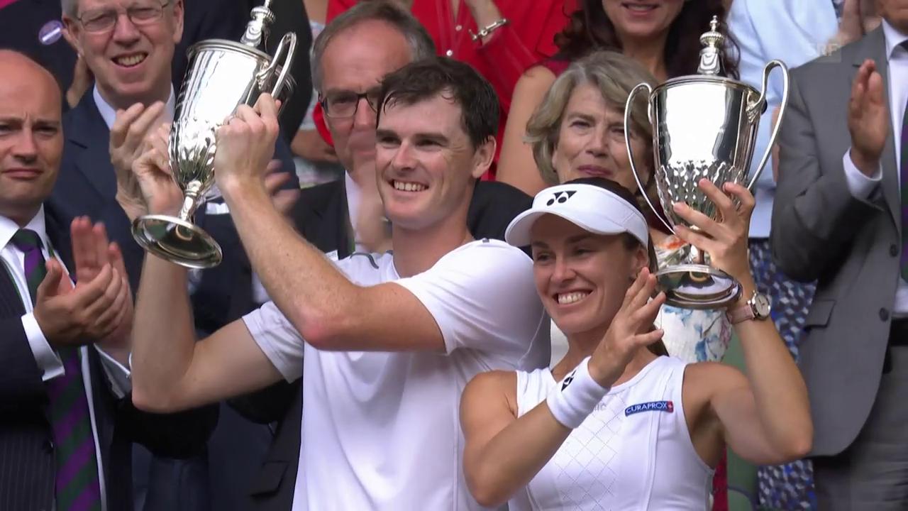 Hingis triumphiert ebenfalls in Wimbledon