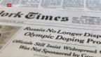 Video «Inoffizielles Doping-Geständnis von Russland» abspielen