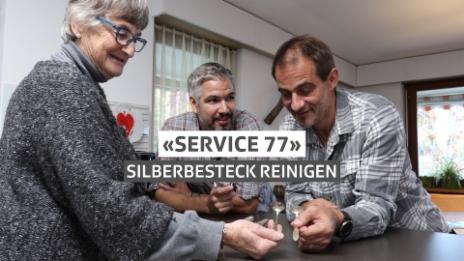 Video ««Service 77» – angelaufenes Silberbesteck retten» abspielen