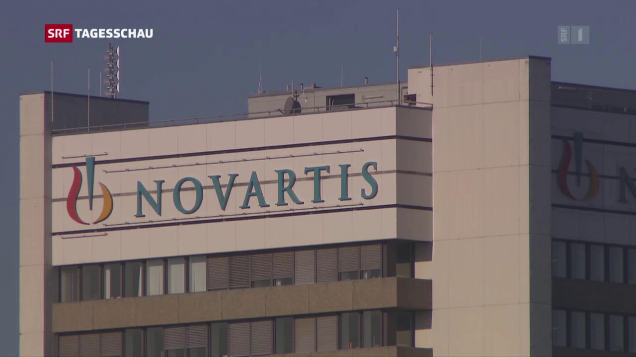 Der Gewinn von Novartis ist leicht geschrumpft