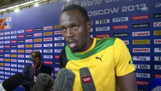 Video «Interview mit Usain Bolt (englisch)» abspielen