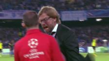 Video «Jürgen Klopp sieht rot» abspielen