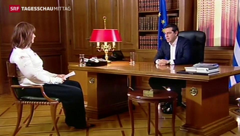 Tsipras hält an Nein-Parole fest