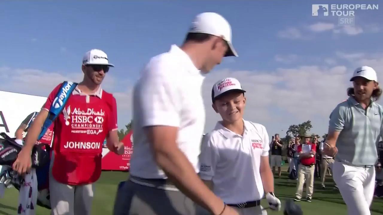 Der Zauberschlag von Golf-Talent Oscar Murphy