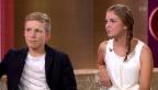 Video «Studiogäste: Leana Flückiger und Tom Surbeck» abspielen