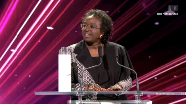 Friedenskämpferin Bineta Diop - Gewinnerin in der Kategorie Gesellschaft