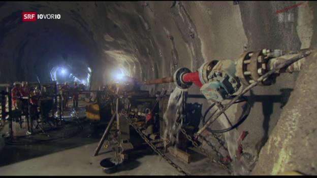 Video «Gotthard: Heimlichtuerei um Bau-Aufträge» abspielen
