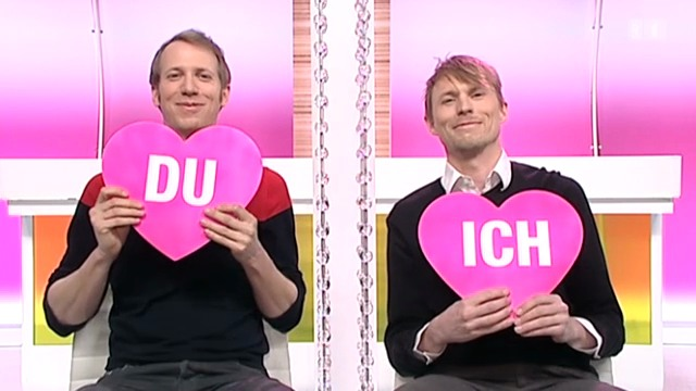 «Ich oder Du»: Jonas Anderhub und Christof Wolfisberg