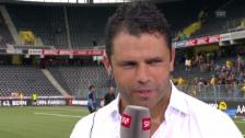 Video «Fussball: Uli Forte im Interview» abspielen