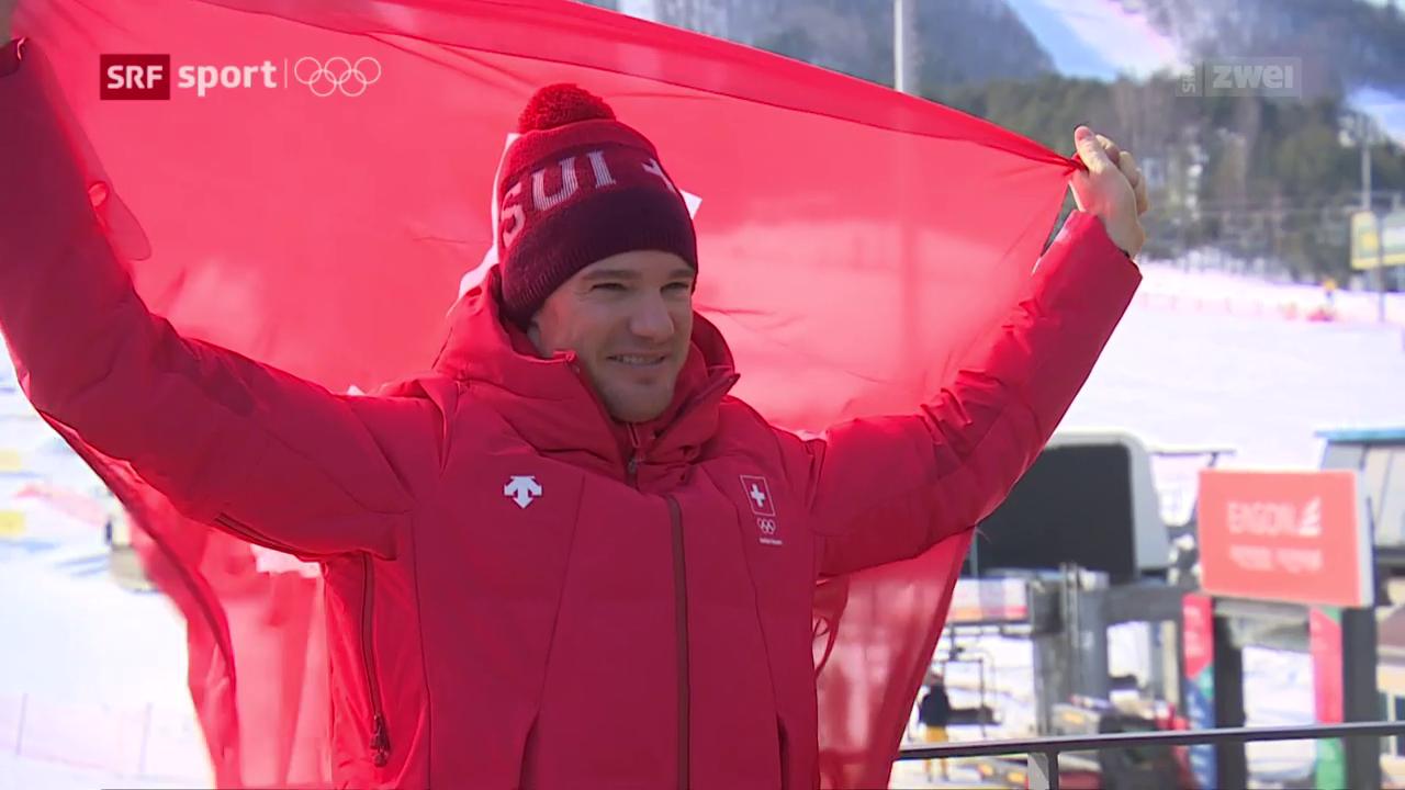 Cologna ist Schweizer Fahnenträger