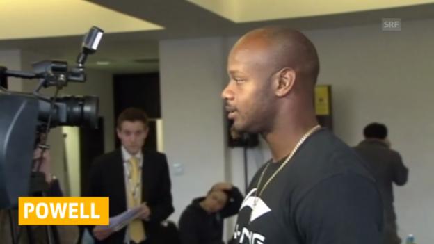 Video «Leichtathletik: 18 Monate Sperre für Asafa Powell» abspielen
