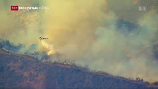 Video «Brände in Kalifornien wüten weiter» abspielen