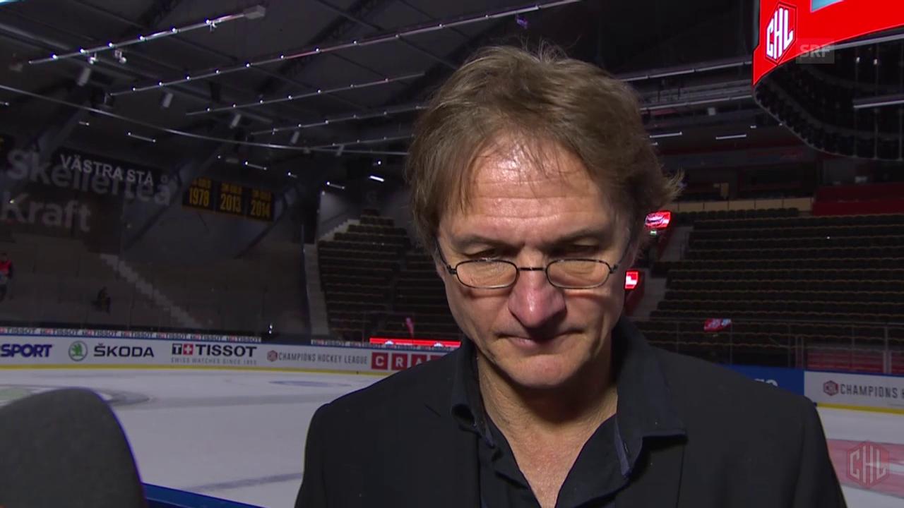 Eishockey: CHL, Interview Del Curto