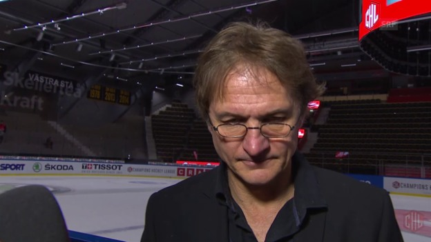 Video «Eishockey: CHL, Interview Del Curto» abspielen