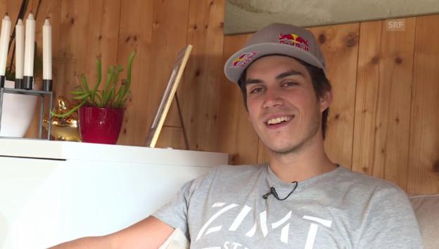 Video «Elias Ambühl verrät Details zu seiner Hochzeit» abspielen