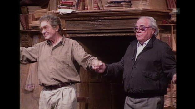 Video «Max Frisch und sein politisches Engagement (Brennpunkt, 2.4.1996)» abspielen