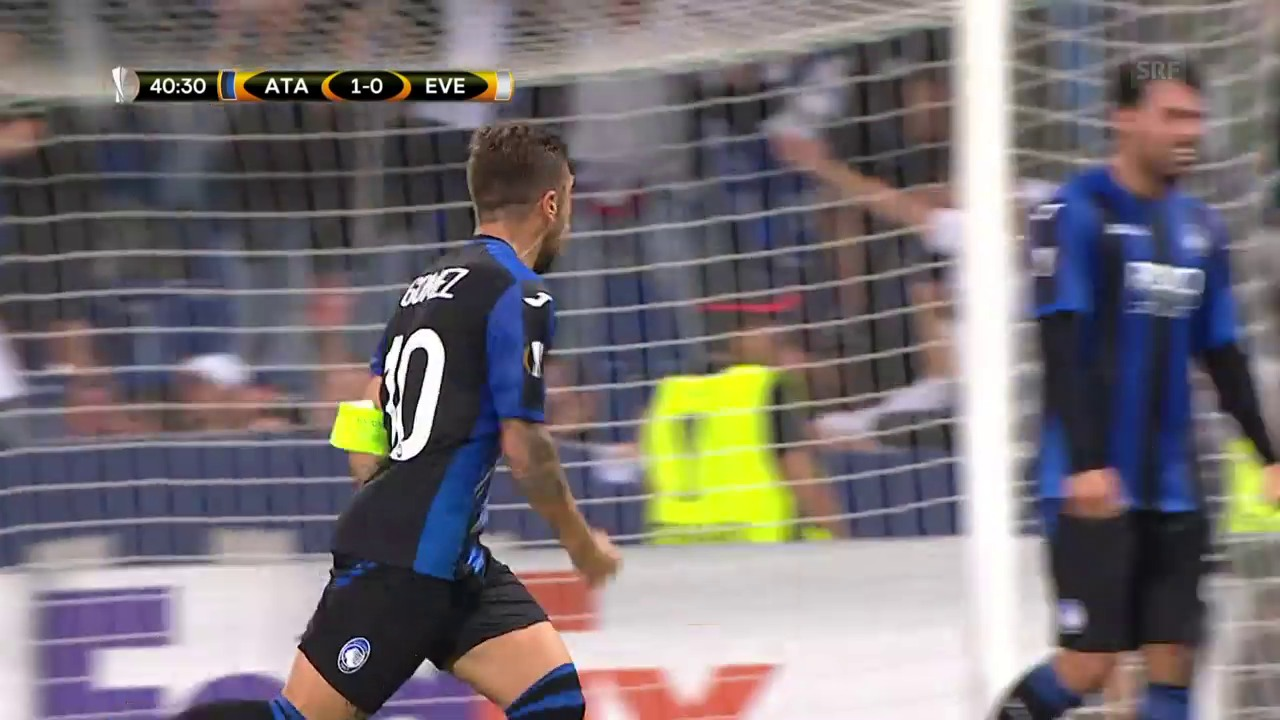 Atalanta-Everton: Die Tore