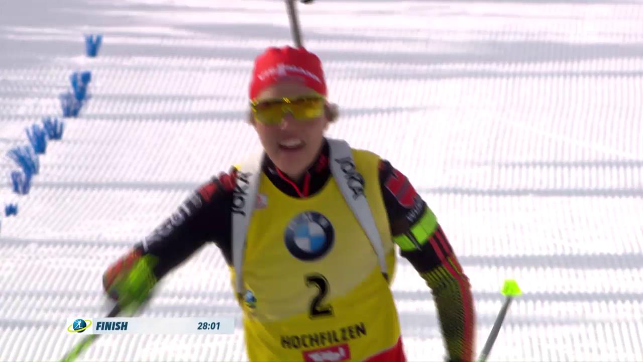 Laura Dahlmeier verteidigt ihren WM-Titel erfolgreich