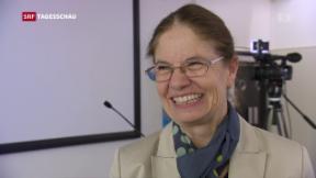 Video «Reaktionen auf den Schweizer Nobelpreis» abspielen