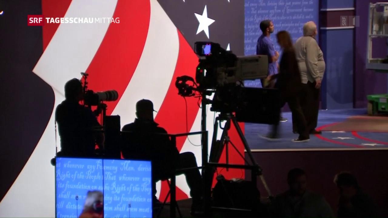 Erstes TV-Duell Clinton-Trump