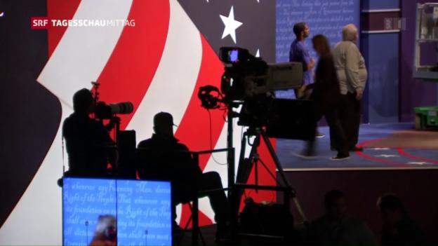 Video «Erstes TV-Duell Clinton-Trump» abspielen