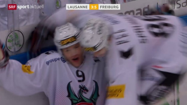 Video «Freiburg bestätigt Aufwärtstrend in Lausanne» abspielen