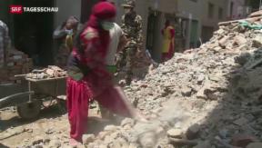 Video ««Wir brauchen starke Männer in Nepal»» abspielen