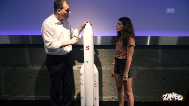 Video ««Zambo»-Weltall-Woche: Wie funktioniert eine Rakete?» abspielen