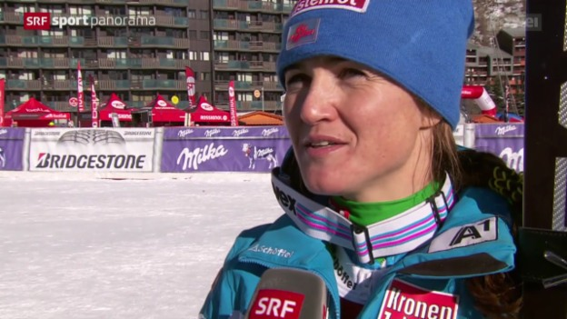 Video «Ski alpin: Super-G Frauen in Val d'Isère» abspielen