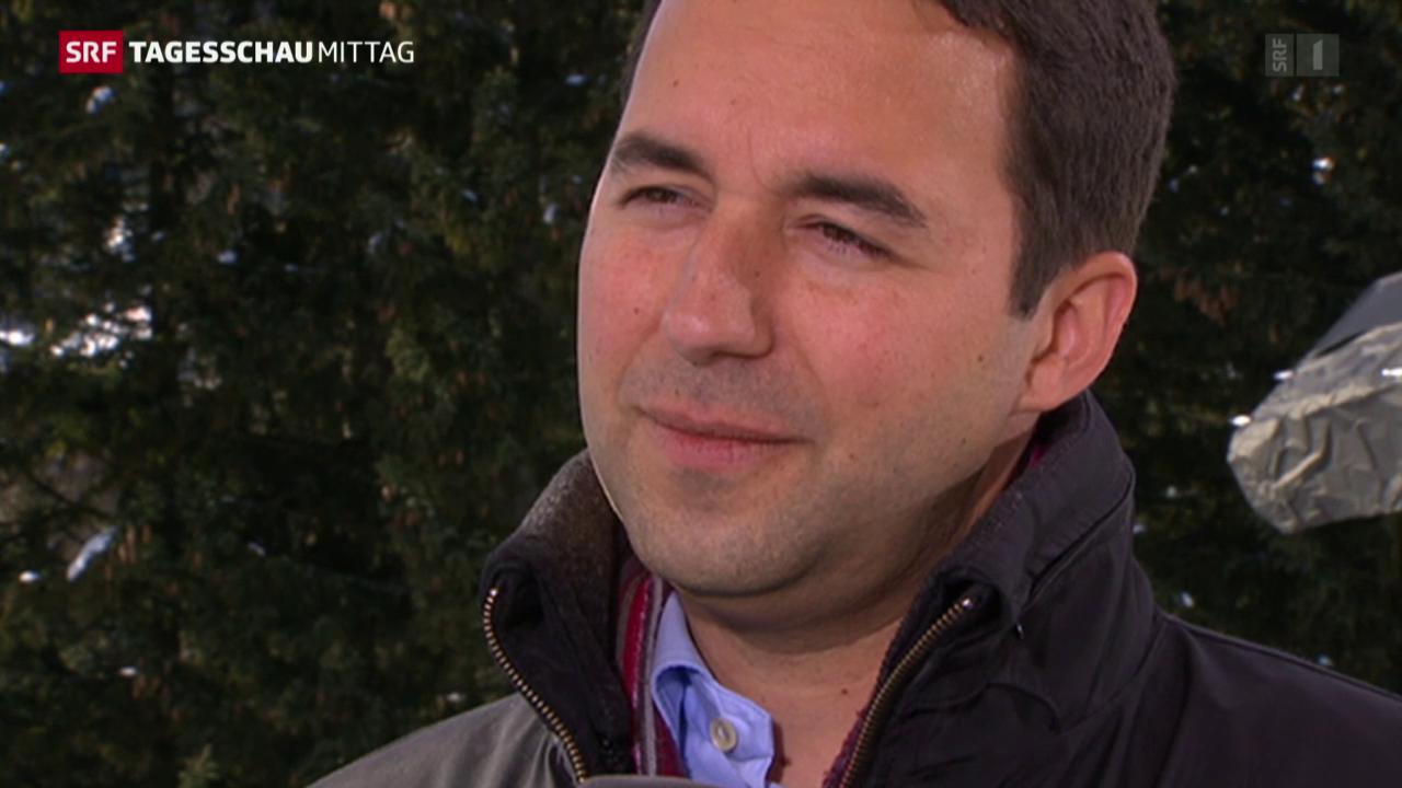 Der neue Swiss Re-Chef
