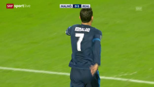 Video «Cristiano Ronaldos Tor Nr. 81 und ...» abspielen