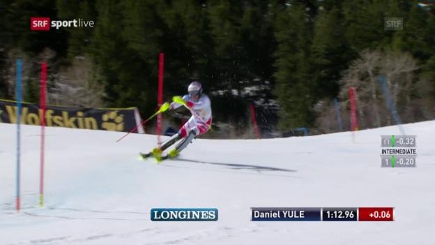 Video «Der 2. Lauf von Daniel Yule» abspielen