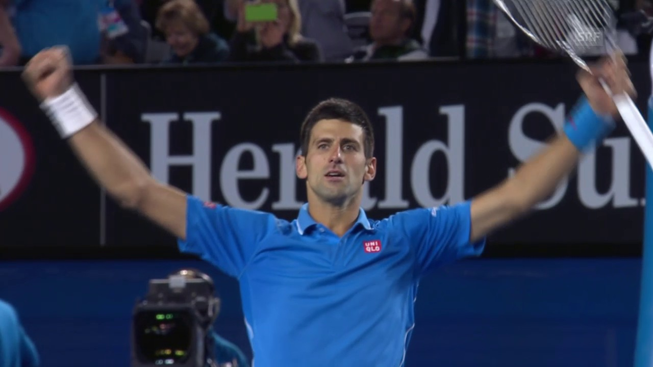 Matchball Novak Djokovic