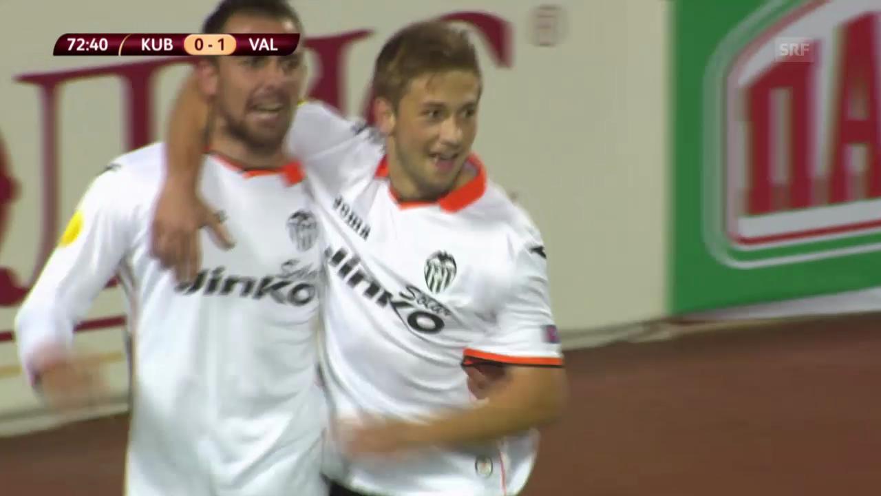 Fussball: Kuban Krasnodar - Valencia