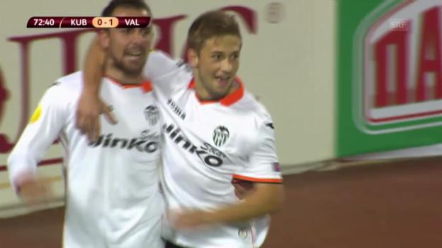 Video «Fussball: Kuban Krasnodar - Valencia» abspielen