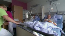 Link öffnet eine Lightbox. Video Teure leere Spitalbetten, Atomwaffen, Rauer Wahlkampf in den USA abspielen
