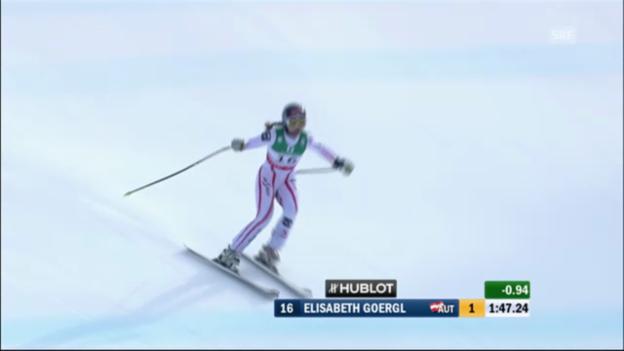 Video «WM-Abfahrt Frauen 2011: Elisabeth Görgl» abspielen