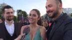 Video «Timebelle in Kiew: Die Schweizer Band hofft auf das ESC-Finale» abspielen