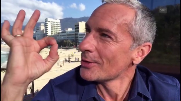 Video «ORF-Moderator Pariasek: «Tauschen Lounge gegen Goldmedaille»» abspielen